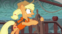 """Applejack """"we need to change course!"""" S6E22"""