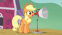 Applejack 'and I just want to let y'all know' S3E08