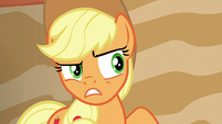 Applejack doesn't trust Flim and Flam S6E20