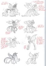 Art of Equestria page 80 - Princess Luna concept art