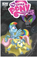 Comic issue 18 hot topic cover