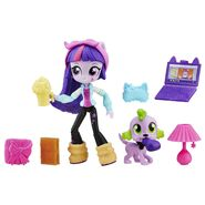 Equestria Girls Minis Twilight Sparkle Sleepover set