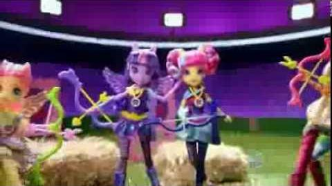 "My Little Pony Equestria Girls Latino América Comercial de TV ""Equestria Girls Friendship Games 2"""