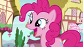 Pinkie Changeling asks how the festival was S6E25.png