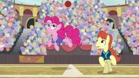 Pinkie Pie fakes out the stallion S9E6