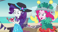 Pinkie impressed by Rarity's couture EGDS16