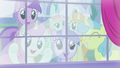 Ponies watching from outside the window S5E14.png