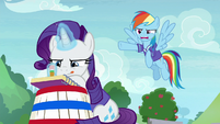 Rainbow -supposed to be holding your bucket!- S8E17