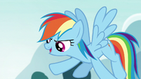 Rainbow Dash --super deadly!-- S5E22