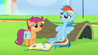 Rainbow Dash -I am pretty good at napping- S7E7