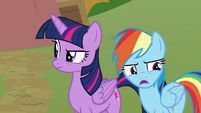 Rainbow Dash -so I could apologize- S8E20