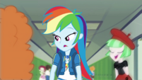 Rainbow Dash looking bored EGDS42