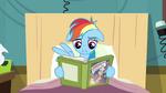 Rainbow Dash starts to read S2E16