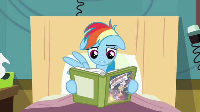 Файл:Rainbow Dash starts to read S2E16.png