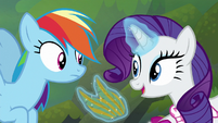 "Rarity ""I have the perfect solution"" S8E17"