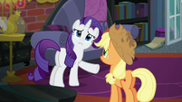 "Rarity ""we've clearly found it"" S5E16"