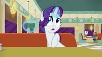 Rarity --Although he can be pushy at times-- S6E9