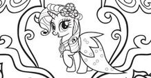 Rarity color-in image