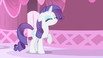 Rarity little outburst S1E20
