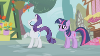 Rarity mad at Twilight S1E03