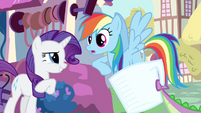 Rarity you're sure Rainbow Dash S3E11