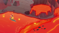 "Smolder ""are we lava surfing or what?"" S9E9"