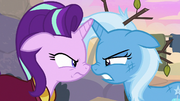 Starlight and Trixie mad at each other S8E19