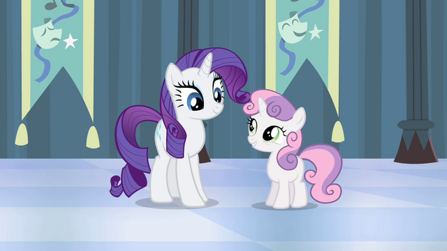 """File:Sweetie Belle """"the costumes were the best part"""" S4E19.png"""