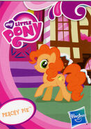 Toys R Us Peachy Pie collector card