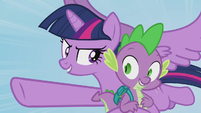 "Twilight ""no problem, Spike"" S5E25"