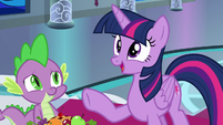 "Twilight Sparkle ""perform it at my school"" S8E7"