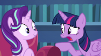Twilight Sparkle --you might be missing the point-- S6E21