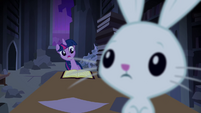 Twilight surprised by Angel S4E03