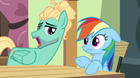 "Zephyr Breeze ""am I right, Rainbows?"" S6E11"