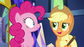 """Applejack """"Shining Armor and Cadance are held up"""" S5E19.png"""