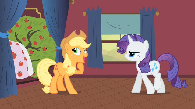 Файл:Applejack and Rarity S1E21.png