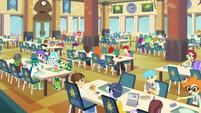 Canterlot High cafeteria EG