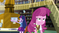 Clueless Twilight and frustrated Cheerilee EG