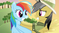 Daring Do pushing Rainbow away S4E04.png