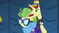 Flam and Impossibly Rich enter backstage area S6E20.png