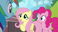 "Fluttershy ""I'm excited to see"" S9E15"