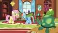 Fluttershy sees Tank yawning S5E5.png