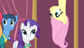 Fluttershy upside down S4E14.png