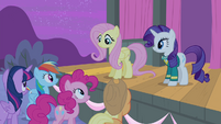 Fluttershy with a smile S4E14