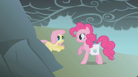 Pinkie shows Fluttershy the way S1E07