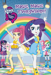 Portada del libro Equestria Girls Magic, Magic Everywhere!
