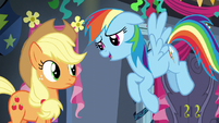 Rainbow Dash --I'd love to tell you-- S6E7