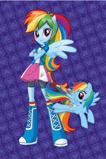 Rainbow Dash Equestria Girls design