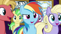 Rainbow Dash actually impressed S8E5