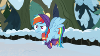 Rainbow Dash frustrated at Discord MLPBGE